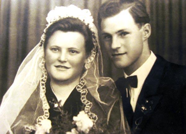 Hochzeit Johanna & Arnold hauser, 15.04.1950
