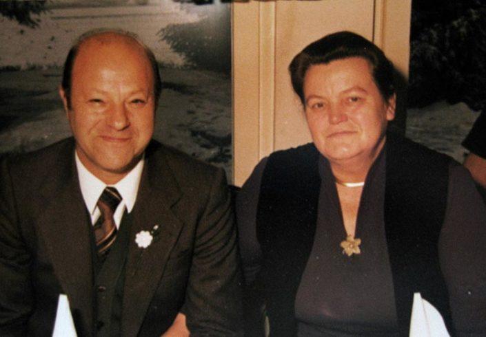 Johanna & Arnold Hauser, 1981
