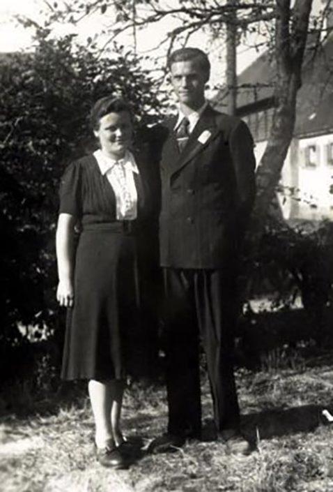 Johanna (geb. Männer) & Arnold Hauser